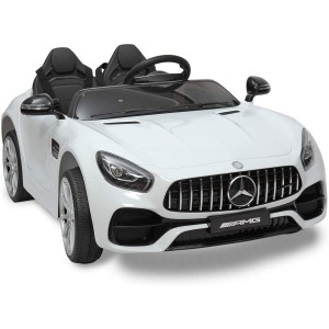JAXPETY Benz Licensed Electric Powered Kids Ride-on Car