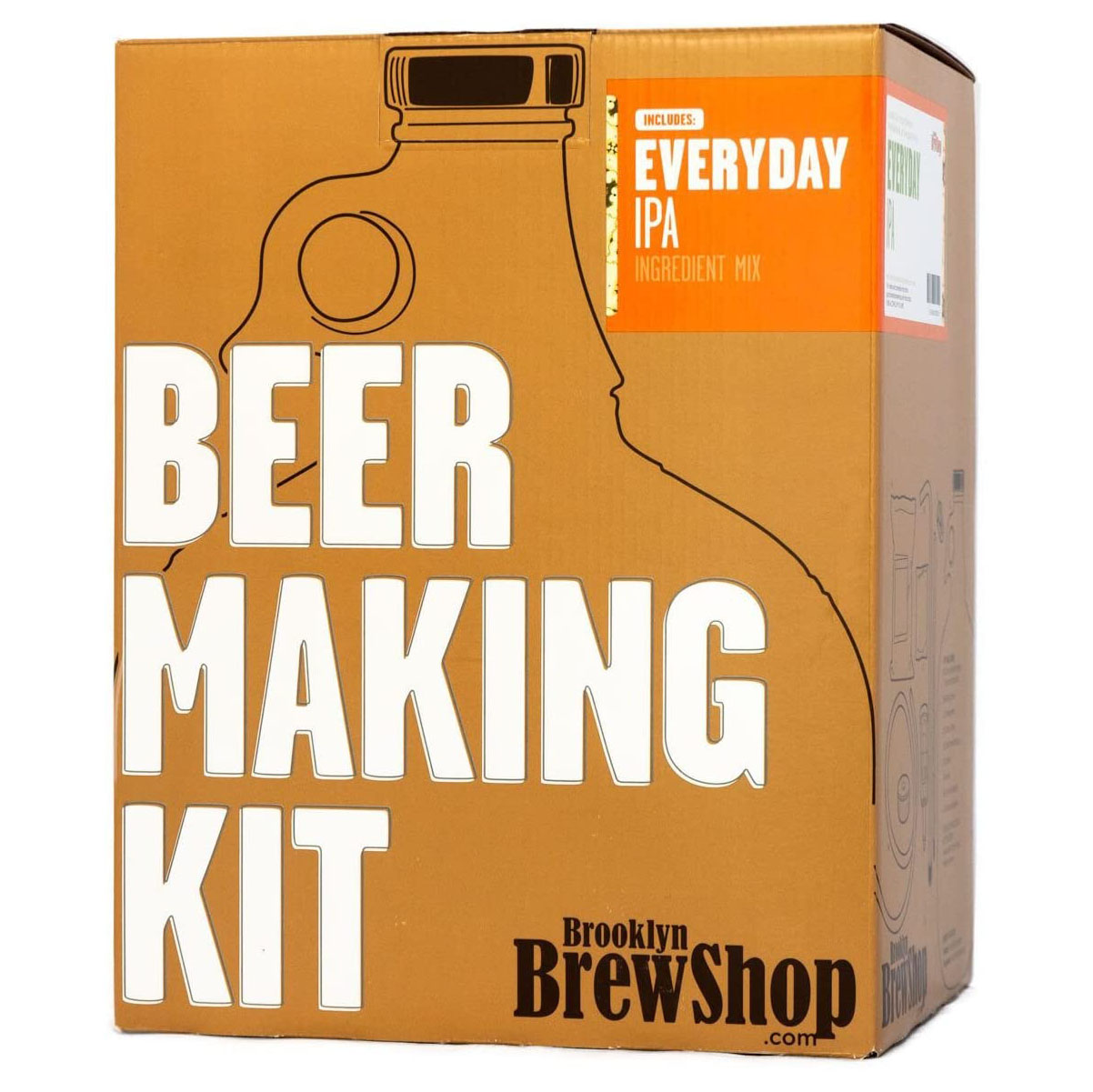 Brooklyn Brew Shop Everyday IPA Beer Making Kit, best gifts for dad