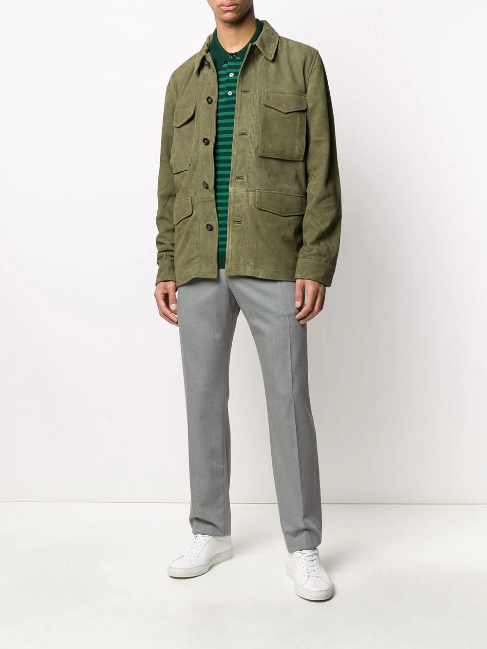 officine-generale-multi-pocket-leather-jacket-in-olive