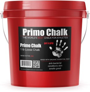 primo chalk bucket, weightlifting chalk