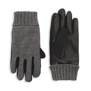 saks fifth avenue hybrid gloves, best men's winter gloves