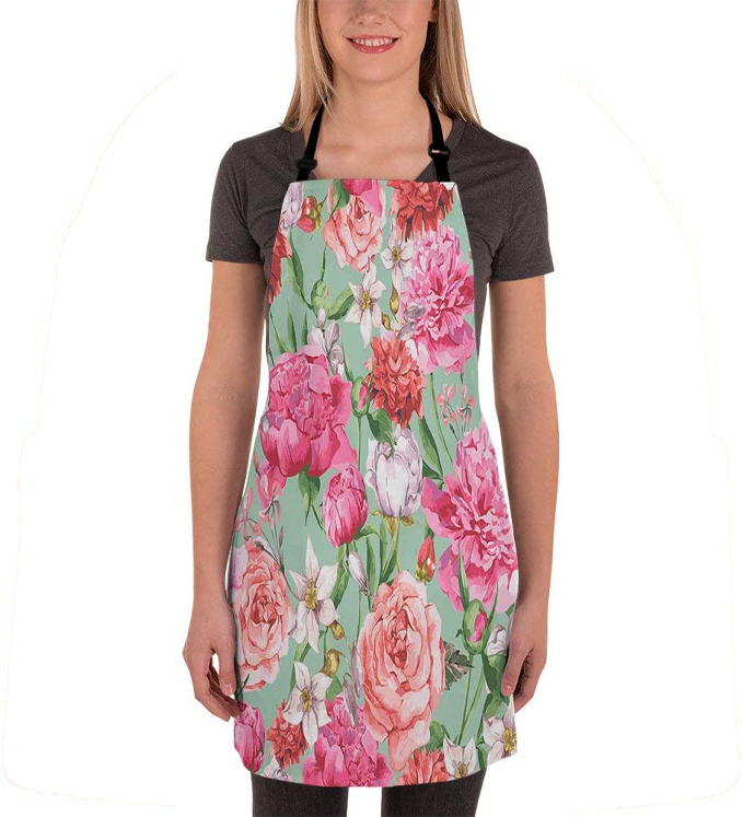 schitts creek gifts, rose apron