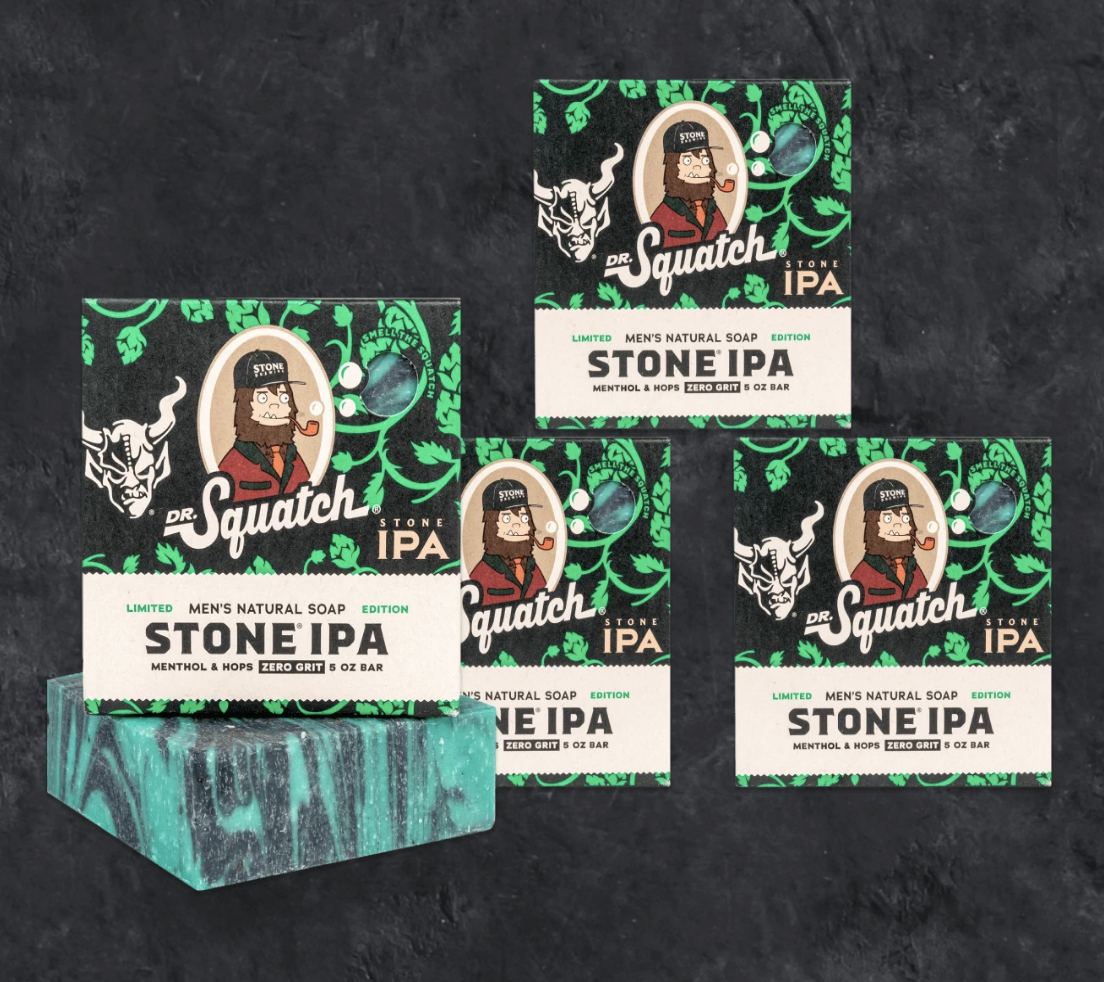 Dr. Squatch Stone IPA Bundle, best gifts for beer lovers