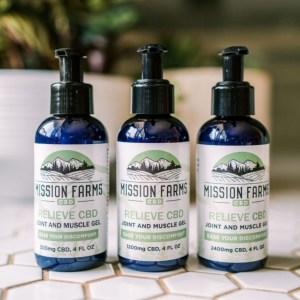 Mission Farms CBD Gel