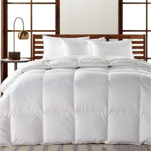 Hotel Collection European White Goose Down Comforter