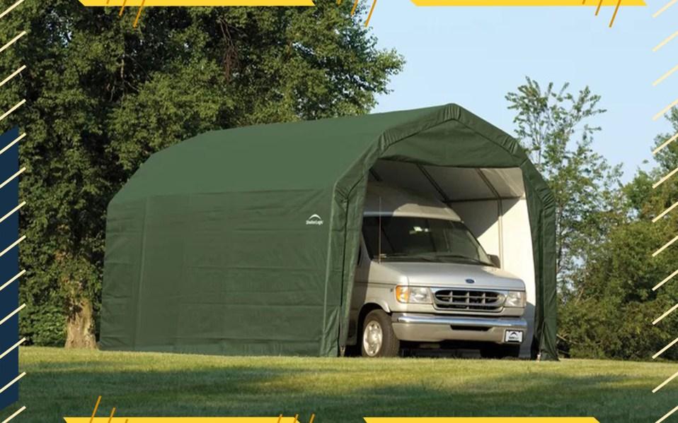 ShelterLogic Car Garage
