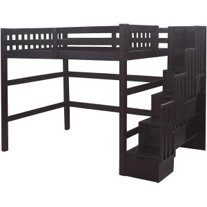 SCANICA Stairway Full Loft Bed