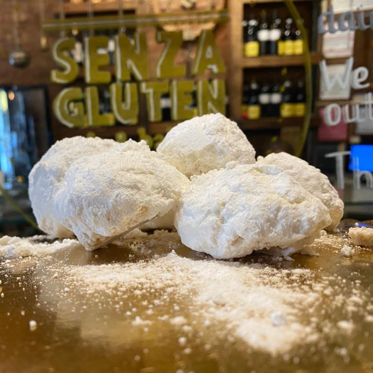Senza Gluten Snowball Cookies