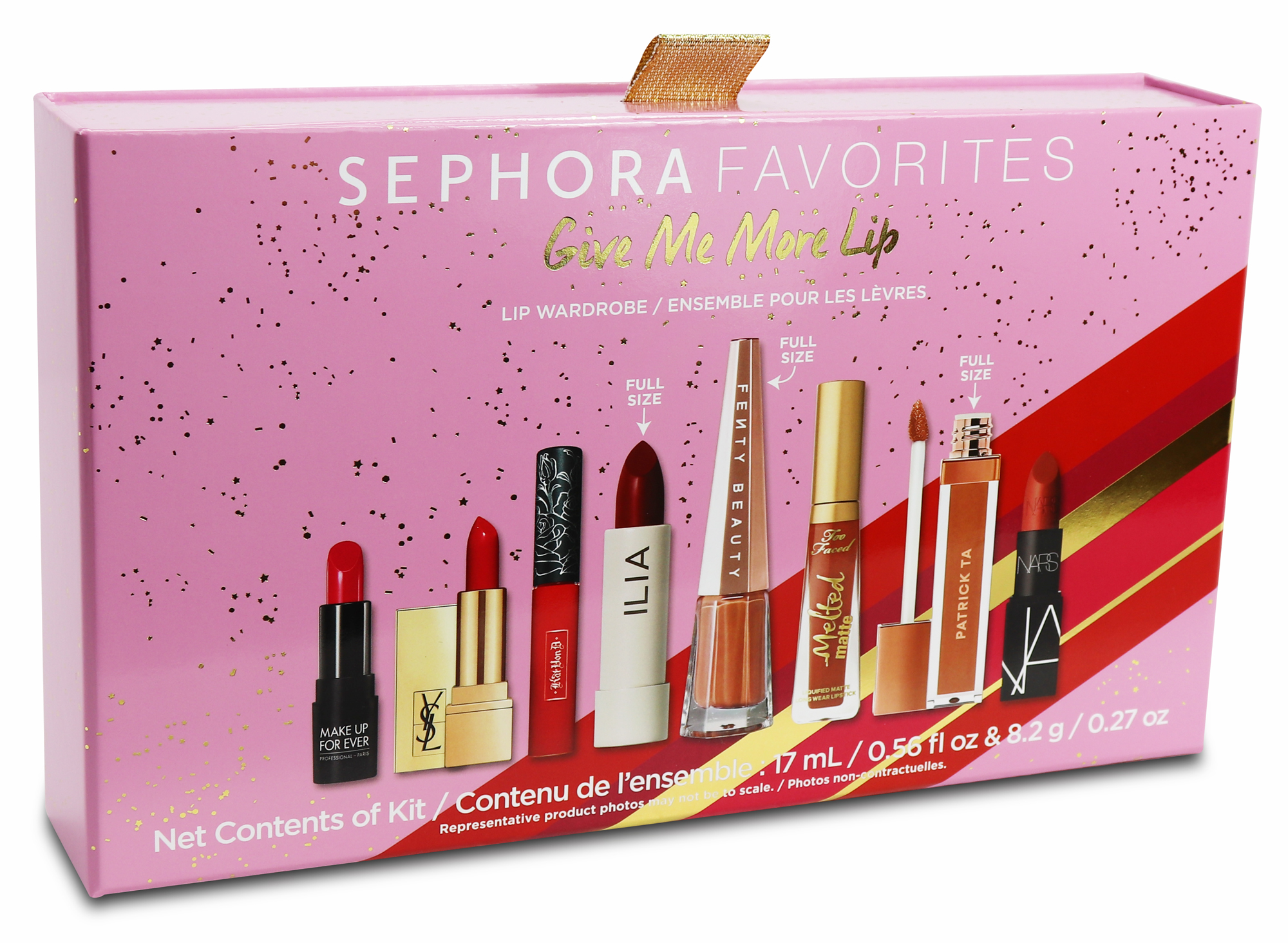Sephora Give Me More Lip Holiday Gift Set