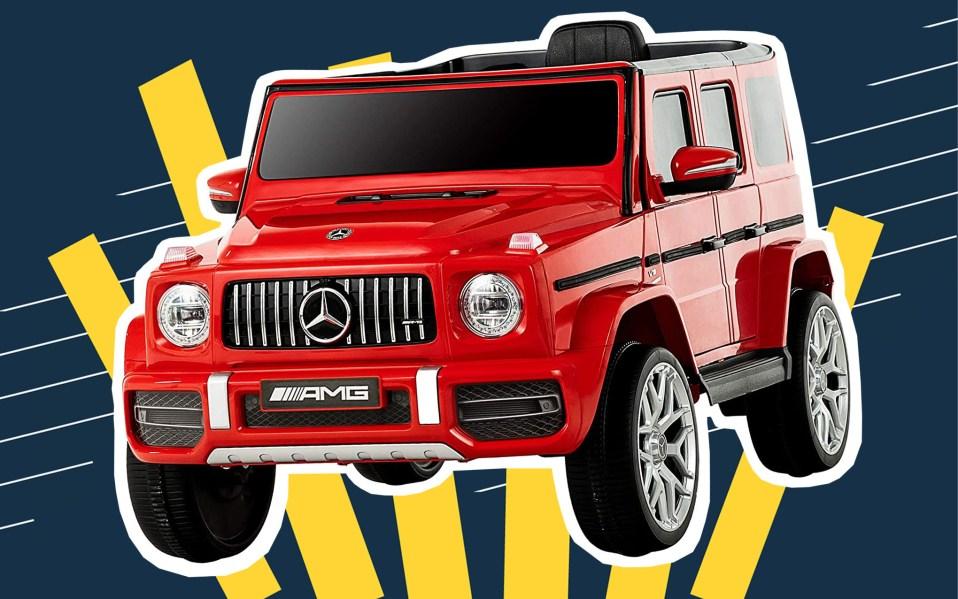 Uenjoy 12V Licensed Mercedes-Benz G63