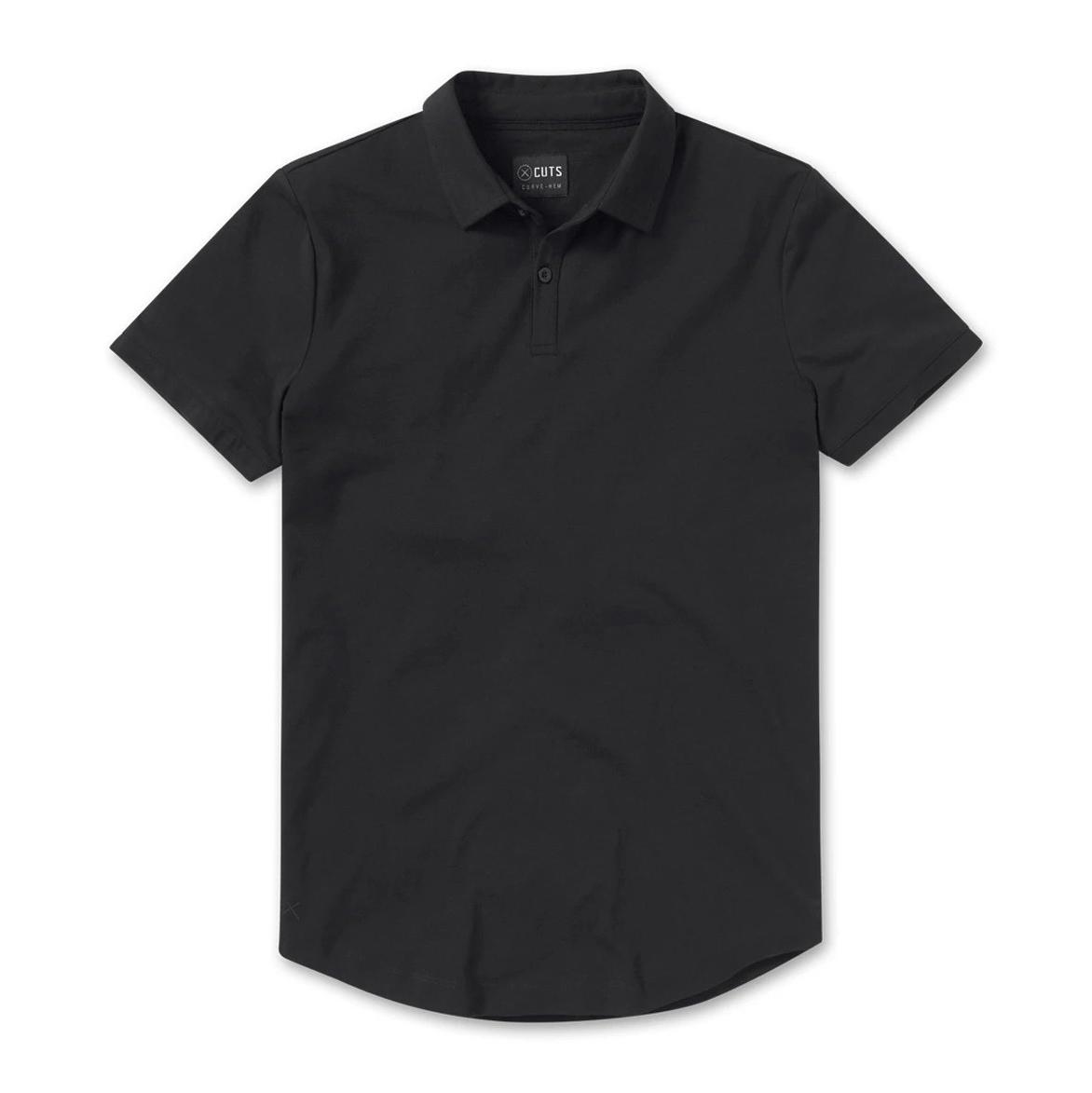 Cuts Clothing Polo Curve-Hem, best golf shirts for men
