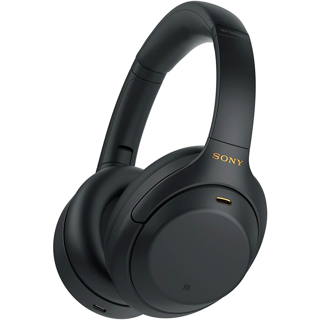 Sony WH1000XM4/B Bluetooth Wireless Over-Ear Headphones