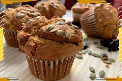 Senza Gluten Spicy Pumpkin Muffins