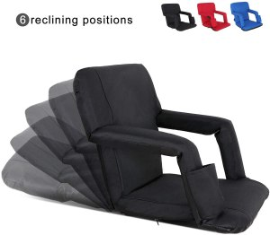 portable stadium seat chair, gifts for sports fans