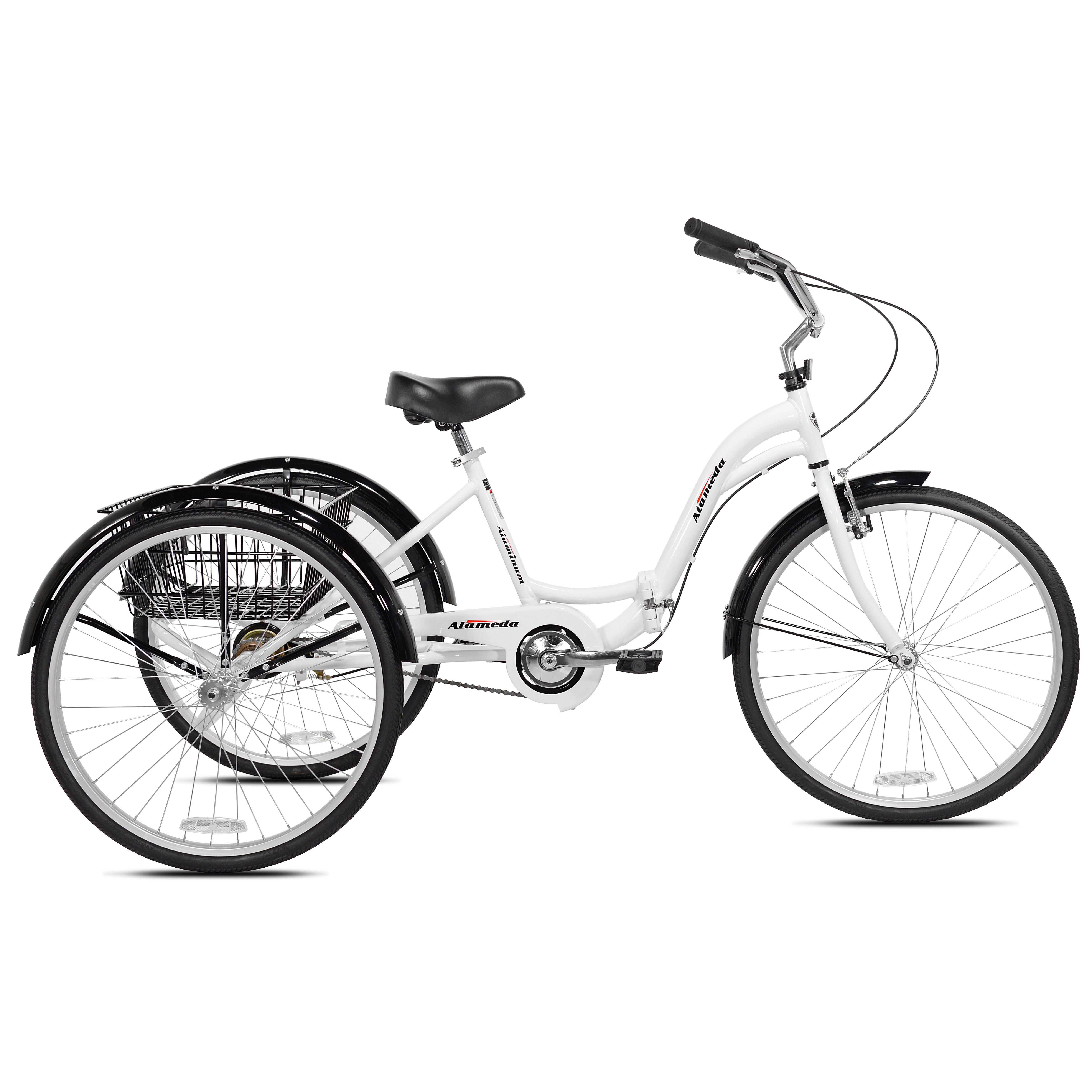 "Kent 26"" Alameda Folding Adult Trike, best adult tricycle"