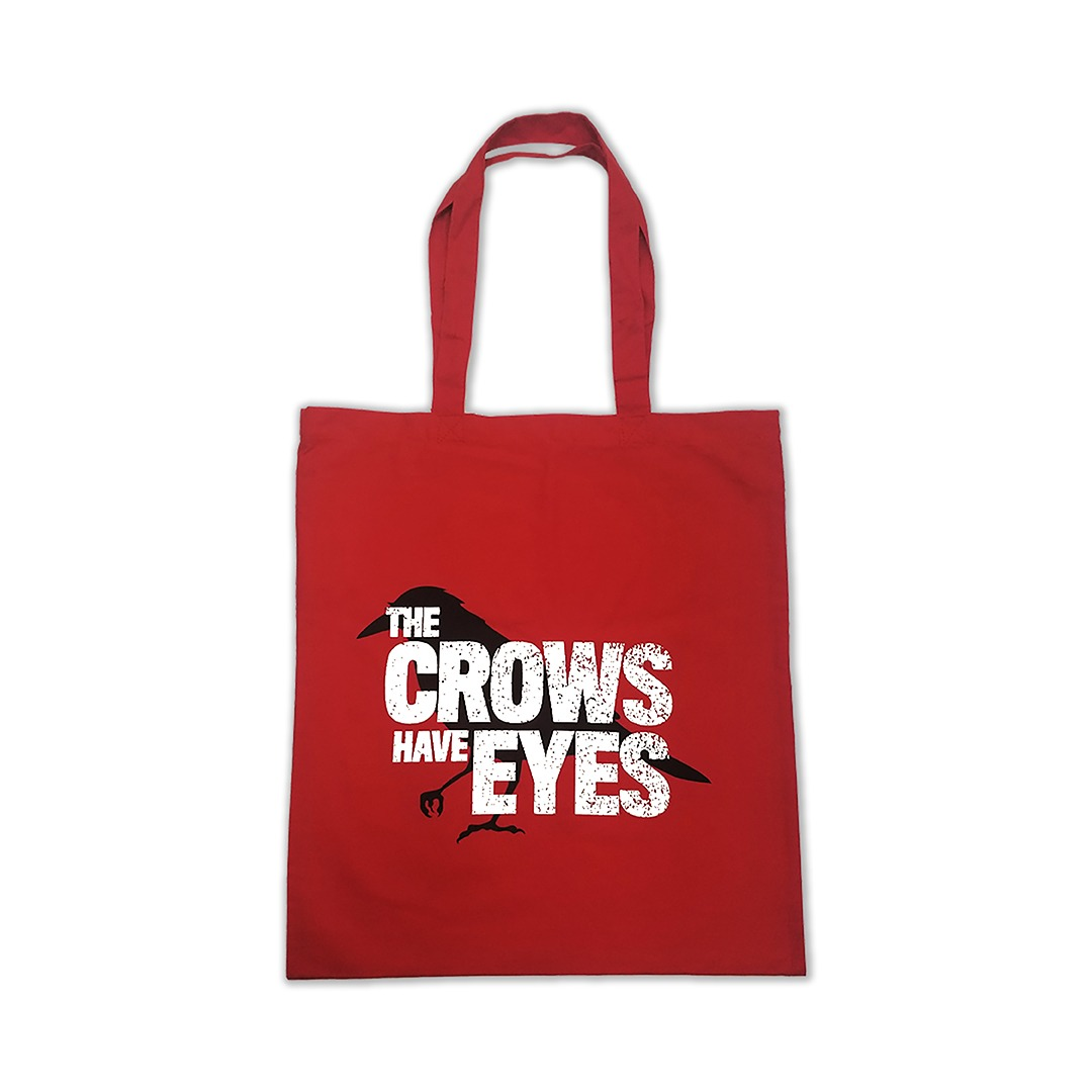 the-crows-have-eyes-tote-bag, schitt's creek gift guide