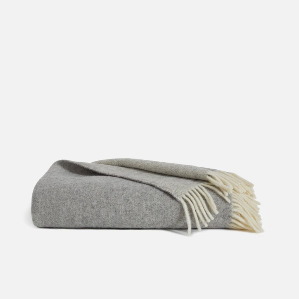 best christmas gifts of 2020, brooklinen throw blanket