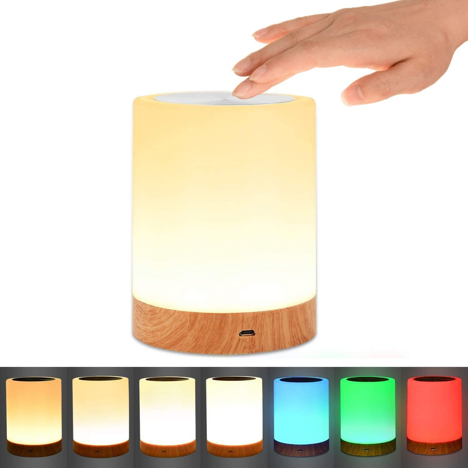 touch lamp, best gifts for bookworms