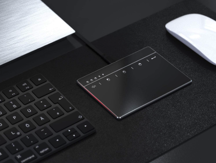 trackpad and keyboard setup