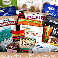 UrthBox snack subscription box, best snack subscription box