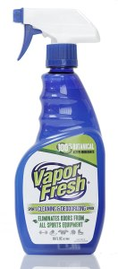 vapor fresh cleaning spray, spin bike accessories