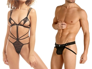 Bluebella Emerson Strappy Soft Body Teddy & Gregg Homme Room-Max Air Jock