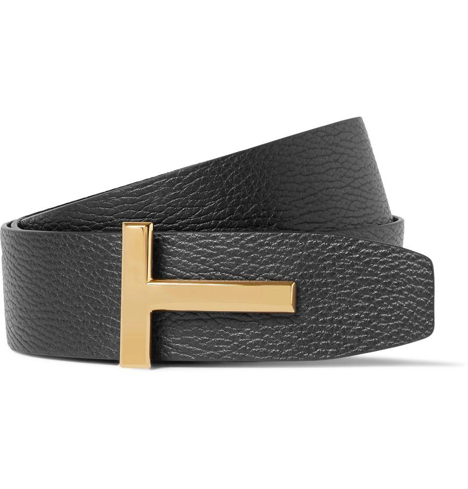 tom ford men's leather belt