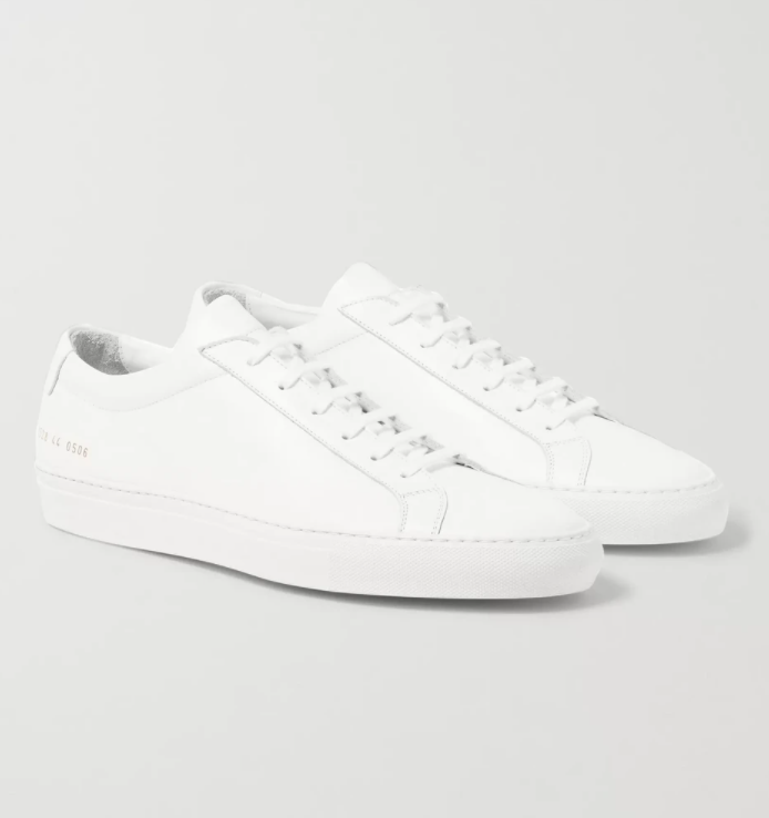 Common Projects Original Achilles Leather White Sneakers