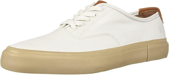 best white sneakers Frye Men's Ludlow Bal Oxford Sneaker