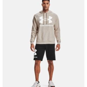 UA Rival Fleece Big Logo Hoodie (Under Armour best black friday deals 2020)