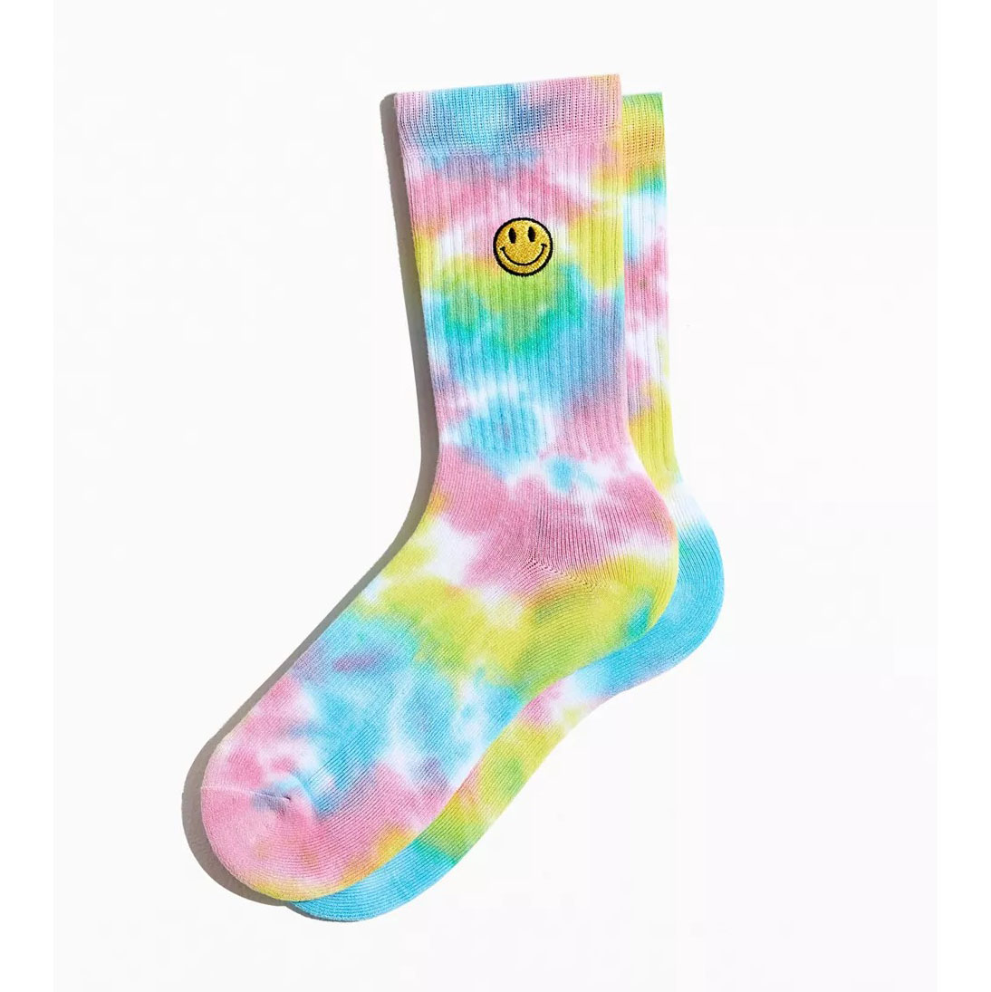 Urban Outfitters Smile Face Sport Crew Sock