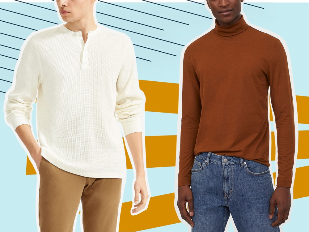 It's Time to Ditch Your Summer Tees for the Best Long Sleeve Shirts to Wear When It's Cold Outside