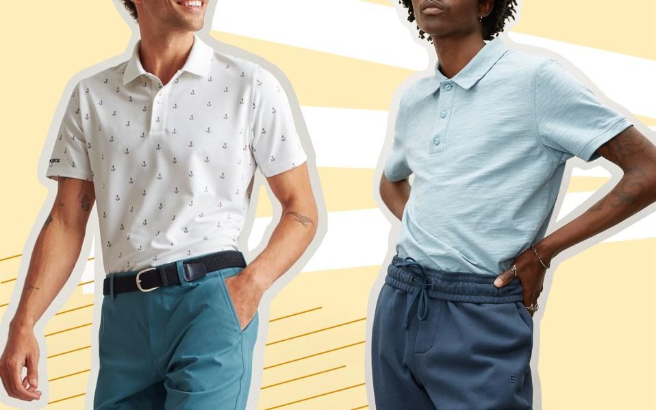 best golf shirts for men