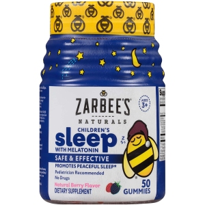 Zarbee's Naturals Children's Sleep Melatonin Supplement