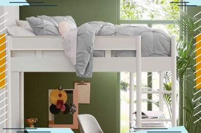 West Elm Mid-Century Loft Bed