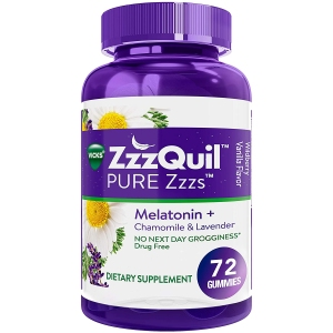 ZzzQuil Pure Zzzs Melatonin Sleep Aid Gummies