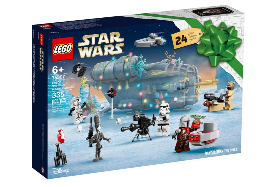 Star Wars LEGO Advent calendar for kids
