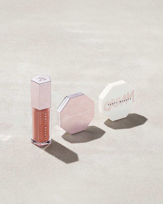 FENTY GLOW TRIO FACE, LIP & BODY SET, Best Valentine's Day Gifts 2021