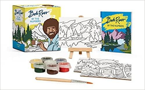 bob ross mini art set
