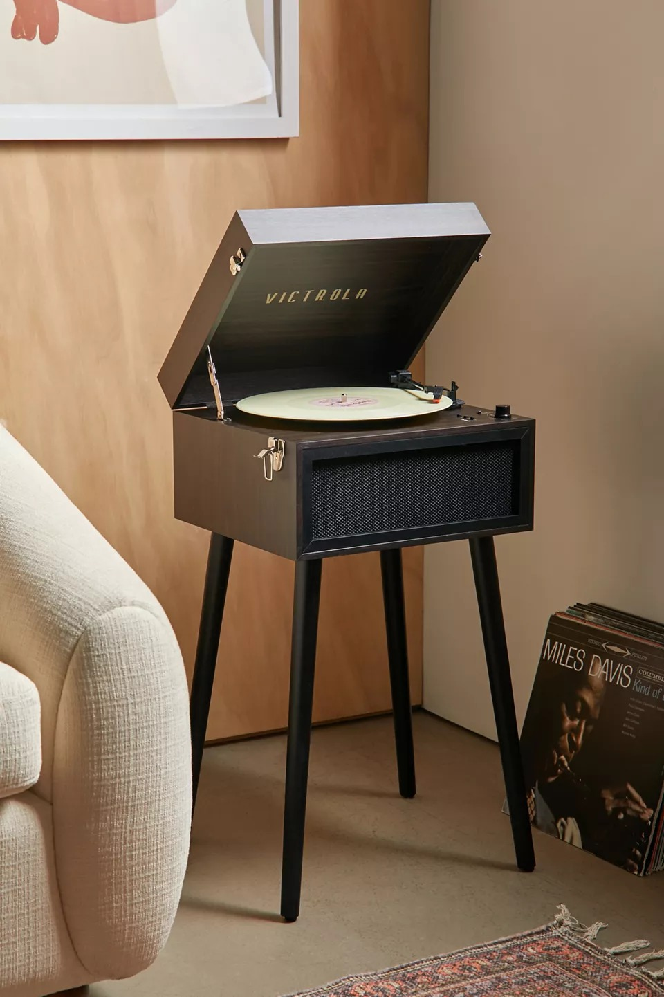Victrola VTA-75 Standing Bluetooth Record Player