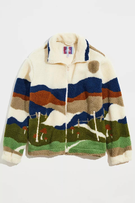 UO Sherpa Zip Jacket