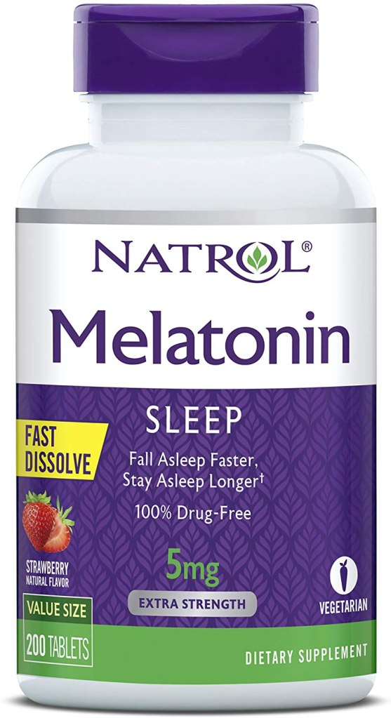 Natrol Melatonin Supplement Tablets, sleep aid products