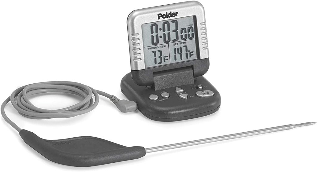 Polder Classic Combination Digital Meat Thermometer