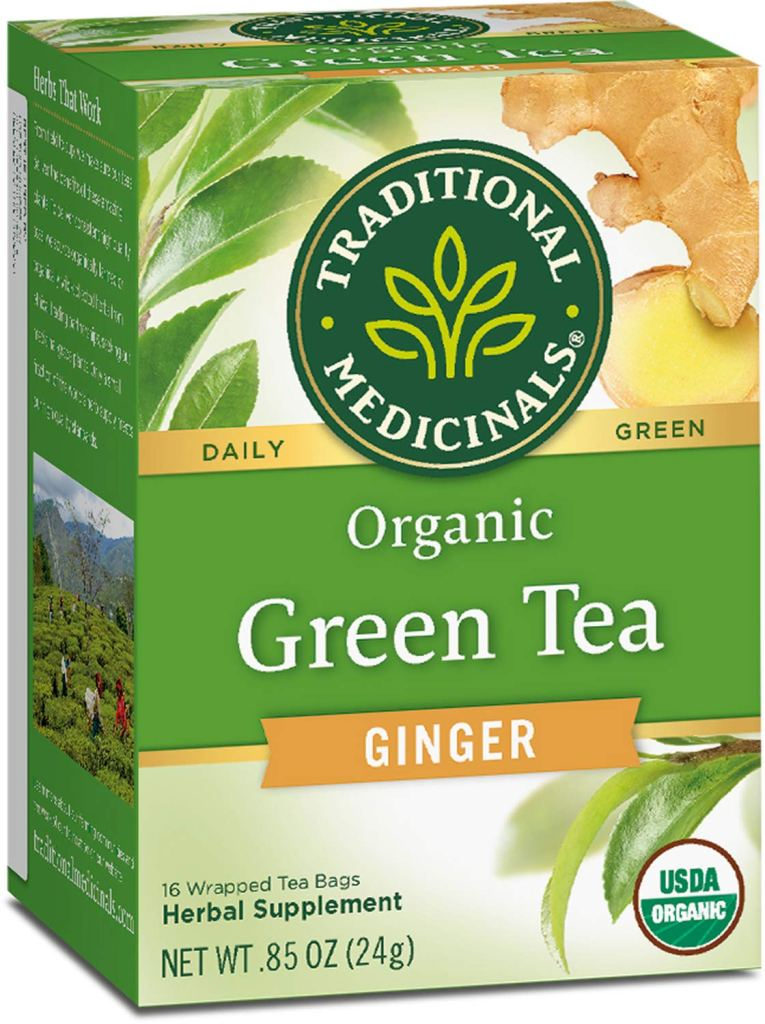 Traditional Medicinal Ginger Green Tea