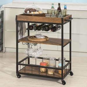 Haotian Bar Serving Cart
