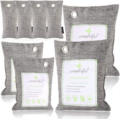 best odor eliminators -Wonderful Activated Bamboo Charcoal Air Purifying Bags