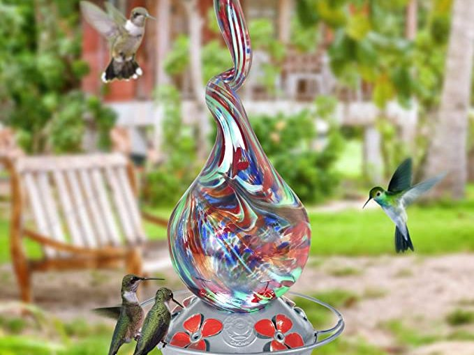 glass hummingbird feeder, best hummingbird feeders