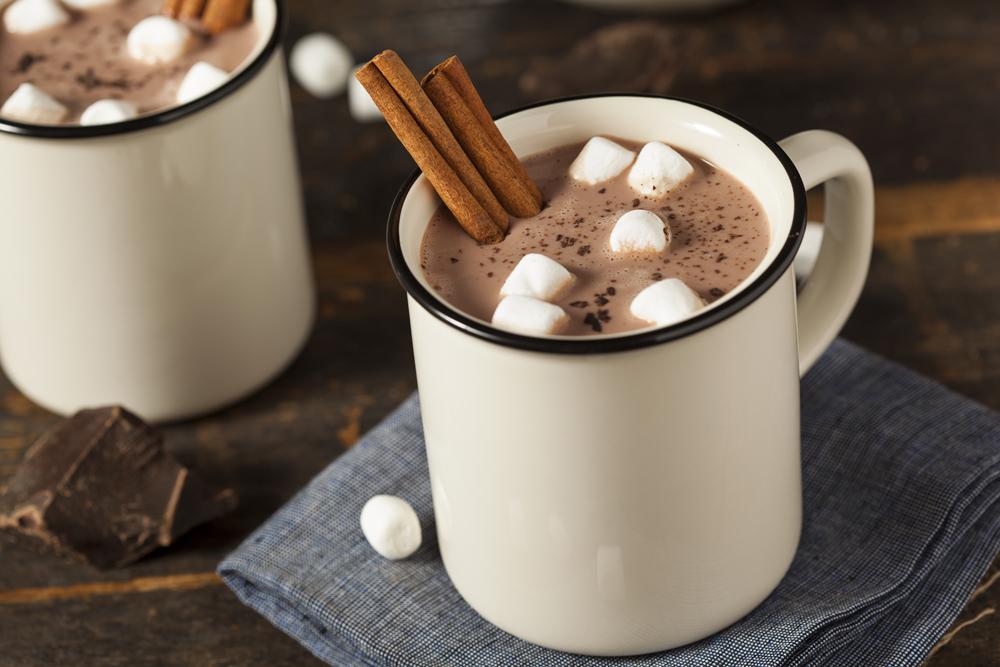 boozy hot chocolate, best winter cocktails