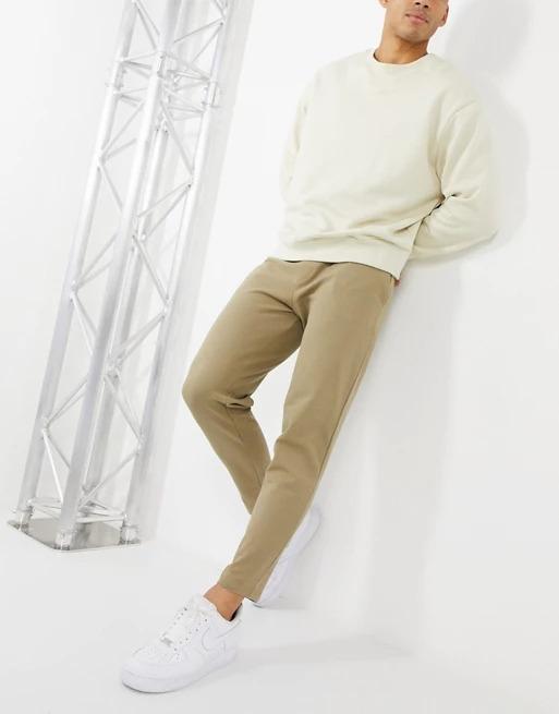 Asos Design Smart Tapered Sweatpants