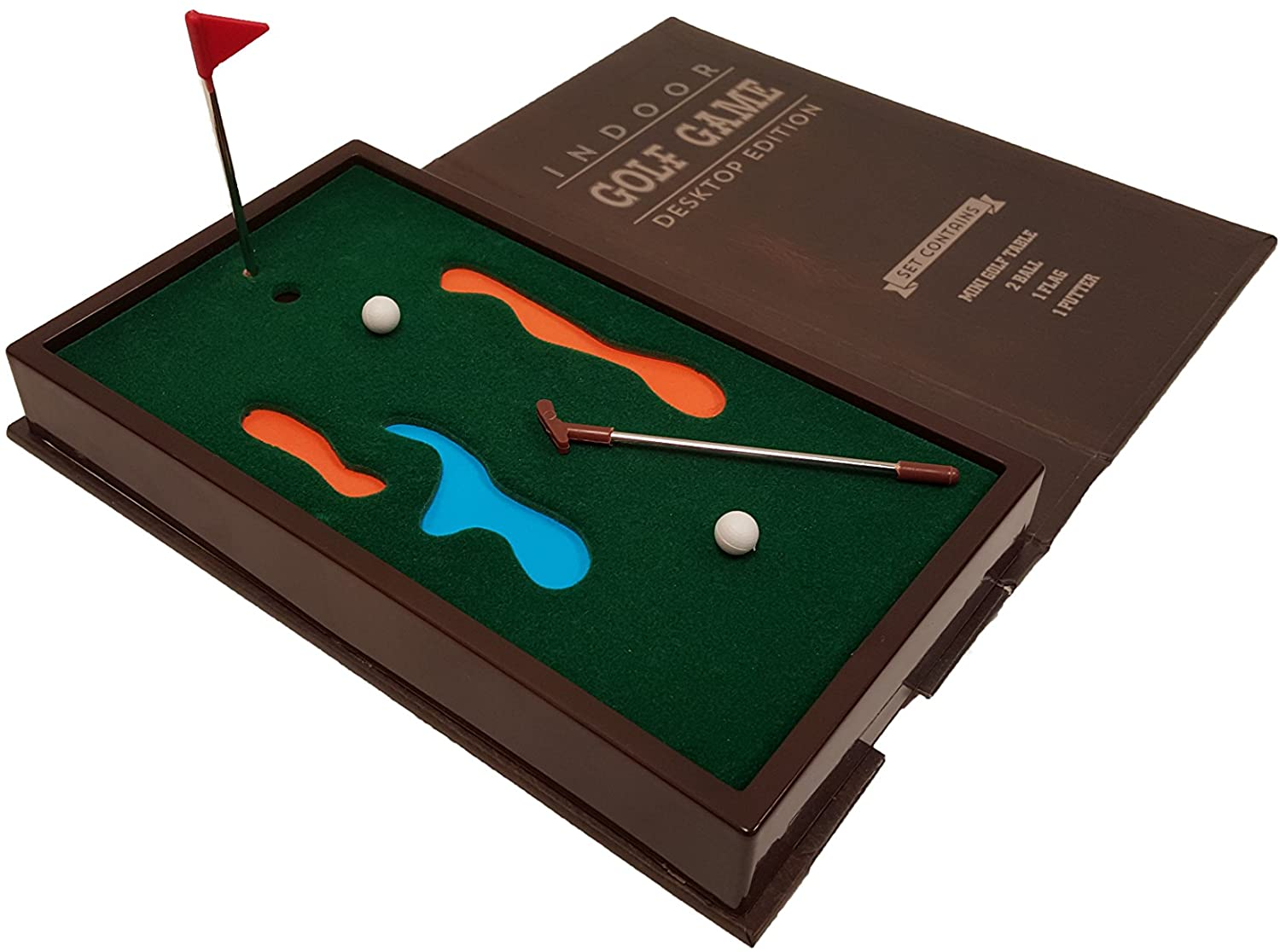Barwench Games' Executive Mini Desktop Golf Game, best gifts for coworkers